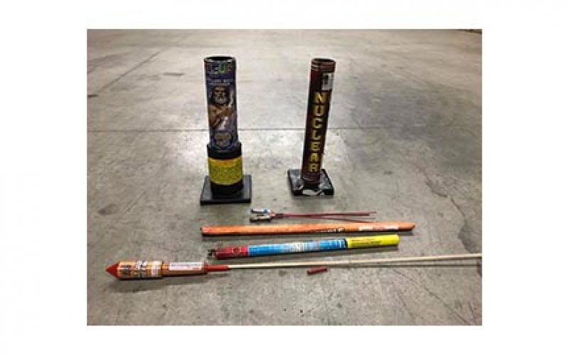 Beamer and West Streets are Scene of Illegal Fireworks Arrest