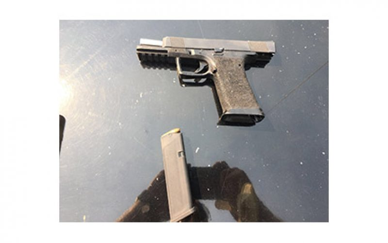 Felon With Gun in Evacuated Area Arrested