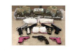 3 Warrants at 3 Locations Yield Drugs, Guns, Cash, 3 Arrests