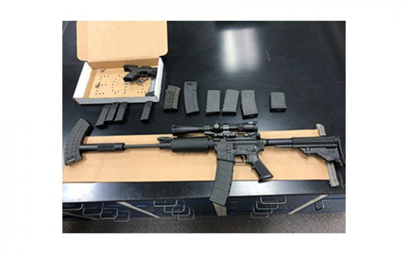 SPD Seized Guns in Two Separate Incidents, Four Arrested