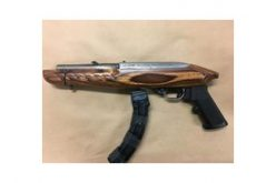 Probationer Arrested in Possession of Fully Loaded Sawed-Off Rifle