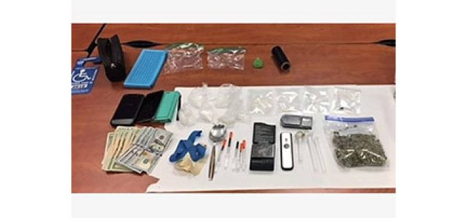 Altered License Plate Leads to Arrest of Suspected Drug Traffickers