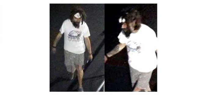 Suspect Wanted for a Hate Related Vandalism