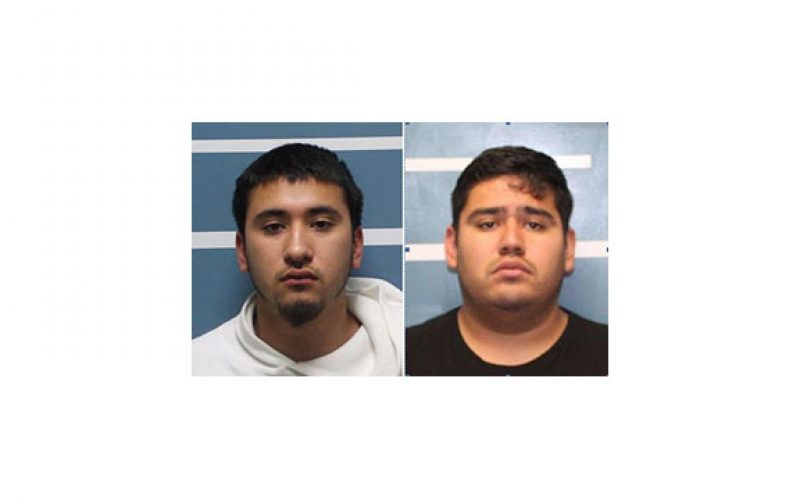Two Arrested for Shooting Guns in a Residential Area