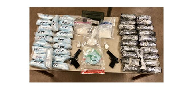 Meth, Oxycodone and Cocaine Seized from Trio