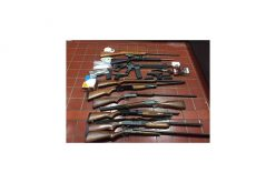 Cut and Dry – Search Warrant and Arrest for Drugs and Guns
