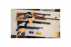 Man Brandishing Shotgun Leads to Three Arrests