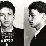 Frank Sinatra Mugshot