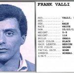Frankie Valli Mugshot
