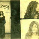 Janis Joplin Mugshot
