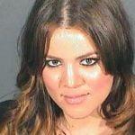 Khloe Kardashian Mugshot