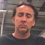 Nicolas Cage Mugshot