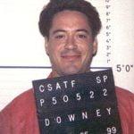 Robert Downey, Jr. Mugshot