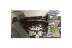 Task Force Seizure of Meth, Marijuana, Guns