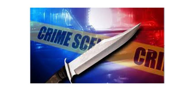 Man stabs someone at campsite, returns for his arrest