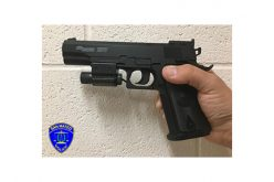 Man Brandishing Replica Handgun Quickly Arrested