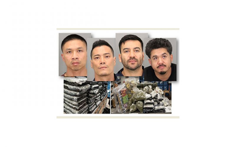 San Jose PD Arrests 4 Suspects Involved In Highly-Organized Criminal Organization