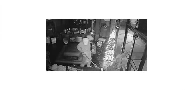 Burglar Plunders Music School, Posts Booty Online