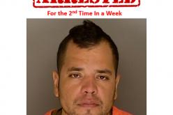 Man arrested twice in one week