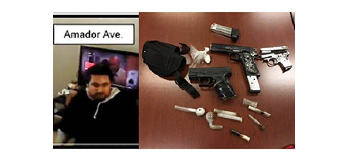 Transient Arrested for Multiple Burglaries and Stealing Firearms
