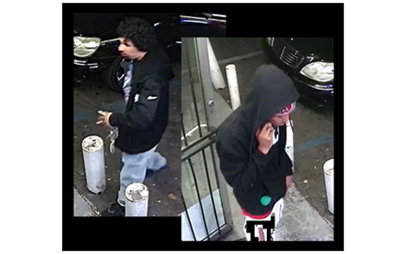 Police asking for public's help in identifying two shooting suspects