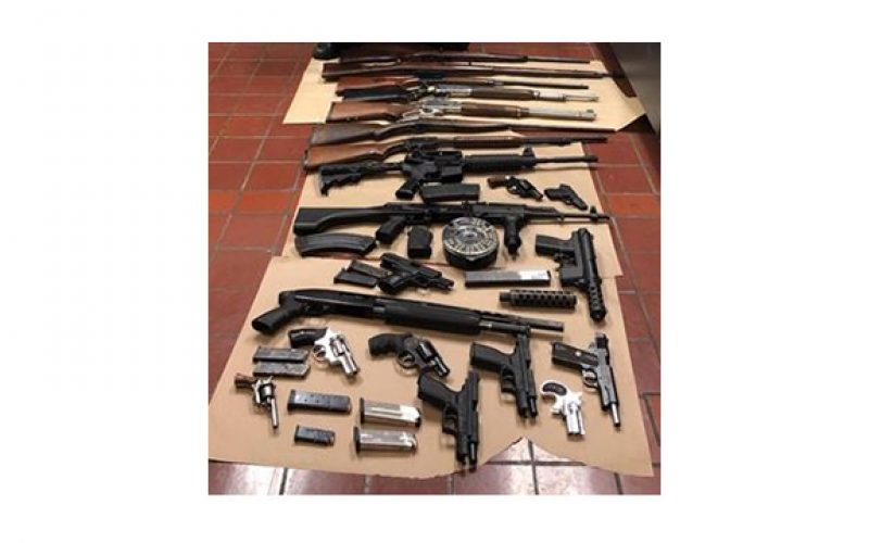 Ringing In the New Year with Illegal Gun Firing Lands Pair in Handcuffs
