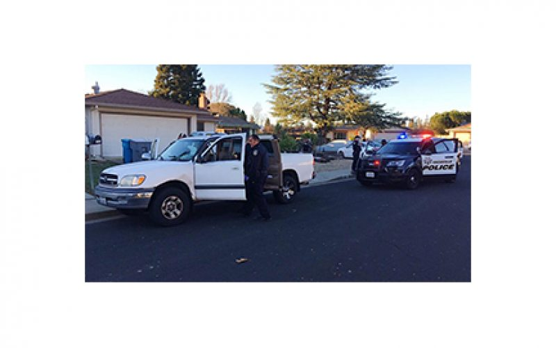 Christmas Day arrest of pickup truck thief