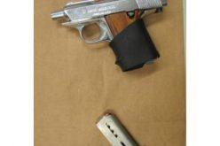 Man & Boy Busted with Gun & Booze