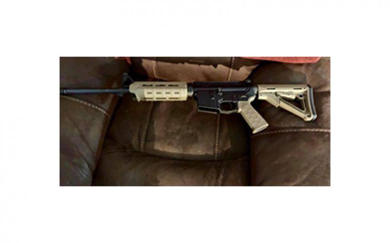 Deputies Arrest 2 Men, Confiscate Semi-Automatic Rifle and Ammunition