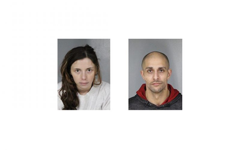 Vehicle burglaries soon followed by two arrests