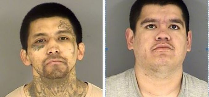 Restraining order violation ends in arrest of two men