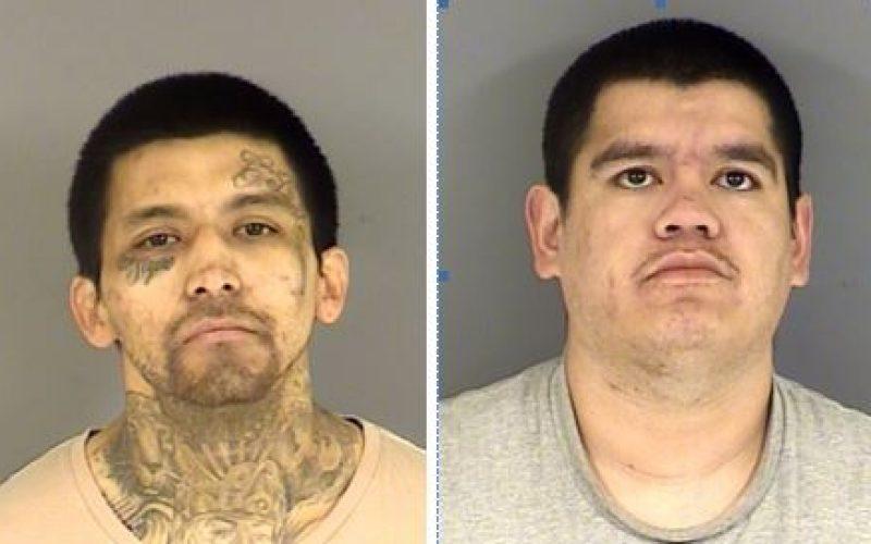 Restraining order violation ends in arrest of two men