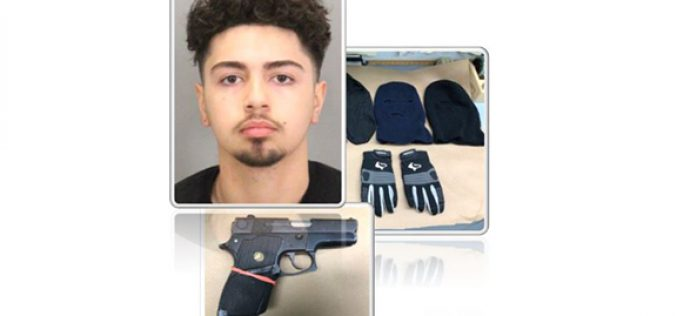 Suspects Arrested in Possession of Concealed Firearm