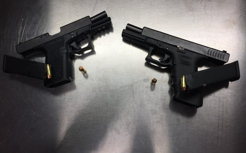 Illegal Firearms Recovered During Fairfield Arrest of 21 Year-Old on Probation