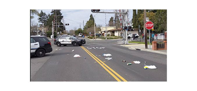 Napa PD quickly and safely quell man throwing bottles
