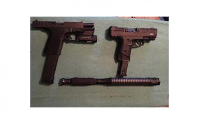 Probation Search Ends in Firearms Arrest