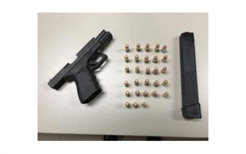 Parolee Busted for Firearm Possession