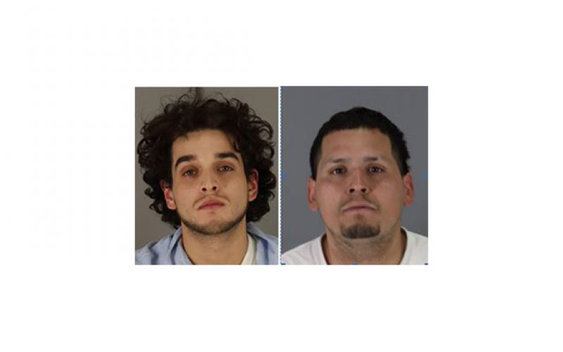"""Two thieves arrested in """"burglary hot spot"""""""