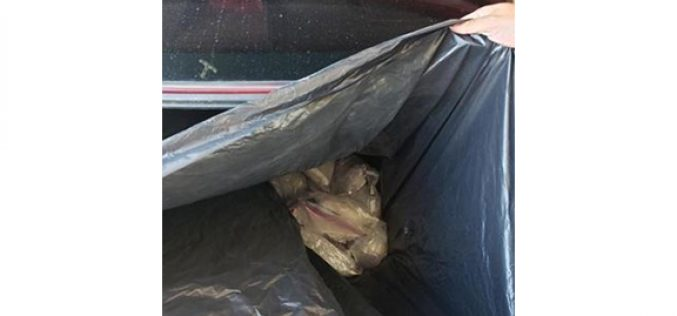 Border Patrol Takes One Down – 99 Bundles of Meth in the Car