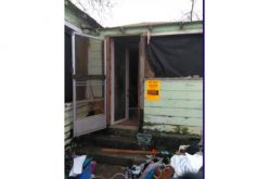 Six Transients and Squatters removed from residence