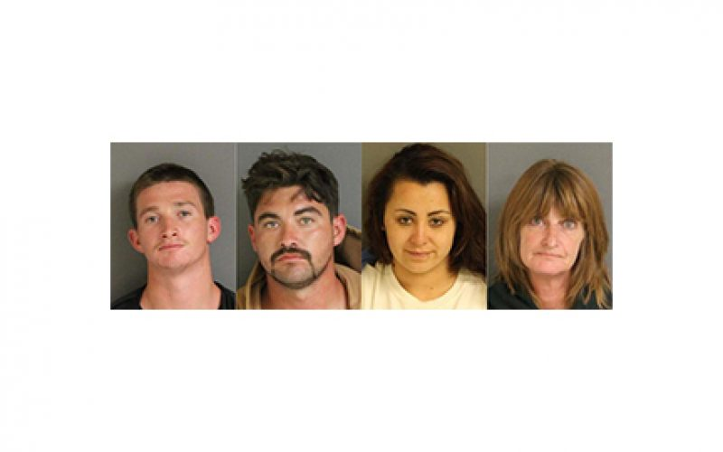 Four Arrested with Firearms Arsenal