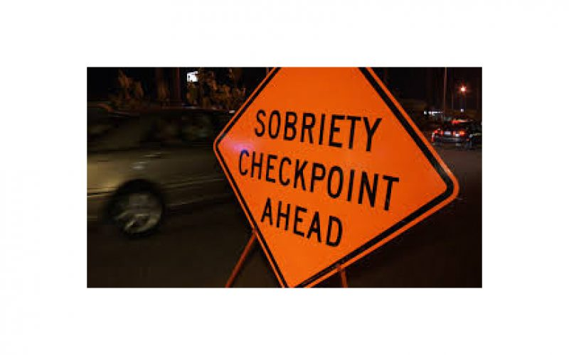 25 citations, 1 arrest, in 4-hour checkpoint stop