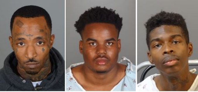 Alleged Knock-Knock Burglars Get Lock-Locked Up