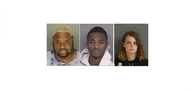 College Town Burglary Trio Busted