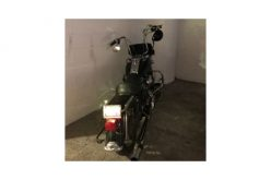 Man on stolen motorcycle does not get far in his escape attempt