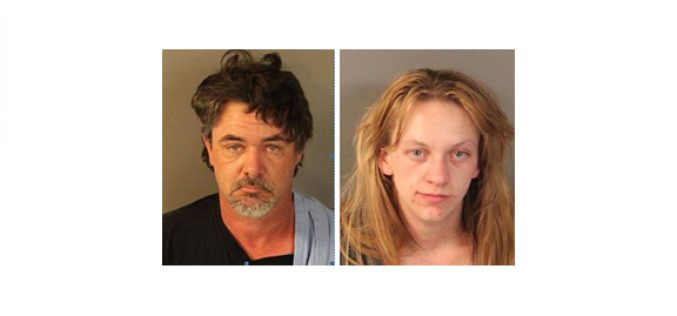 Man and woman caught smoking meth in their truck