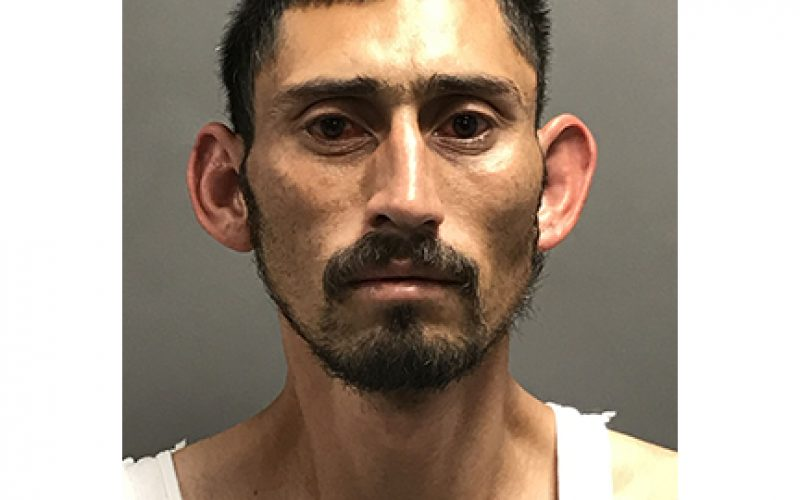 Transient with three warrants has revolver in his backpack