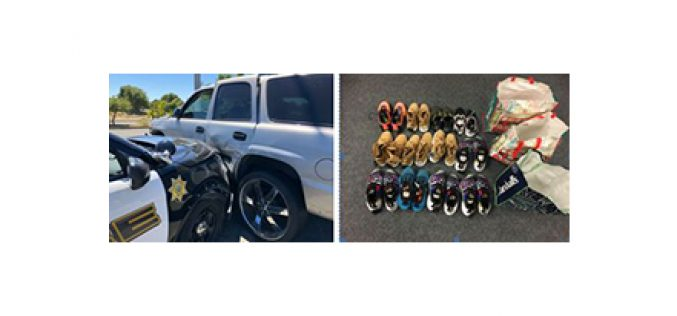 $1,000 worth of shoes stolen from Marshalls, recovered after chase