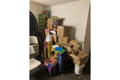 1,000 pounds of illegal fireworks seized before the 4th