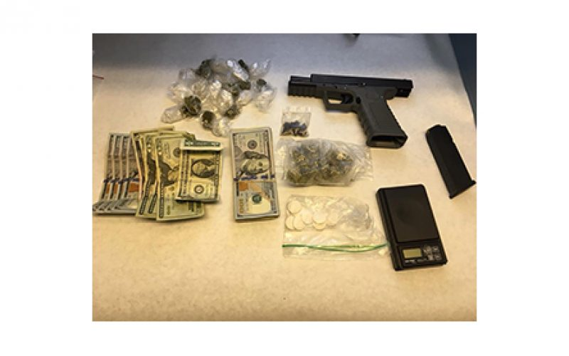 Two men nabbed as they sold drugs from their car